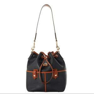 New Dooney & Bourke Drawstring Handbag NWT